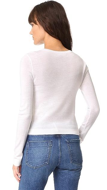 alice + olivia Stace Face Do Not Disturb Sweater