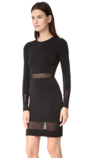 alice + olivia AIR Madie Long Sleeve Dress