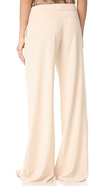 alice + olivia Eric Wide Leg Pleat Front Pants