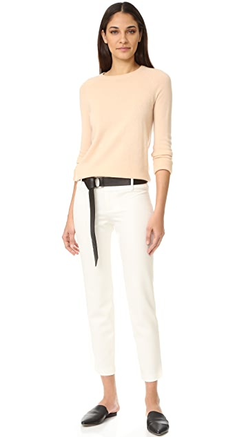 alice + olivia Stacey Fitted Ankle Trousers