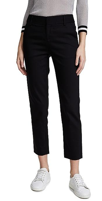 alice + olivia Stacey Slim Pants - Black