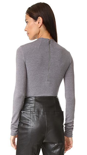 alice + olivia Genova Fitted Sweater