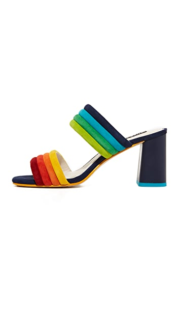 alice + olivia Colby Mules