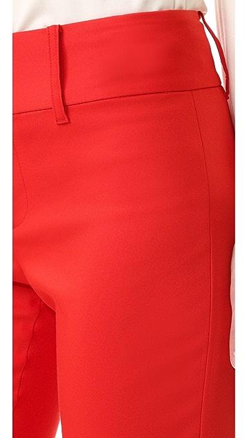 alice + olivia Укороченные брюки Cadence