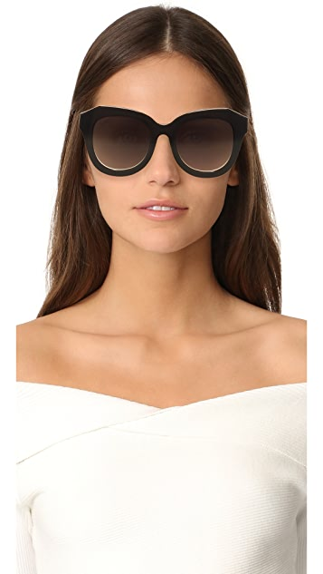 alice + olivia Frank Sunglasses