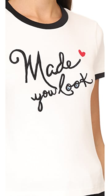 alice + olivia Made You Look Tee