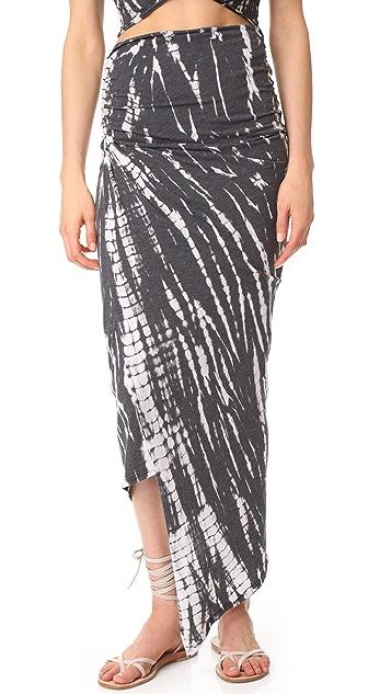 alice + olivia AIR Kay Ruched Convertible Skirt