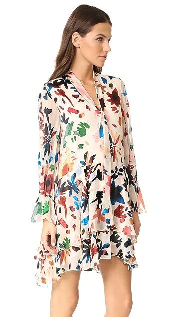 alice + olivia Moran Layered Dress