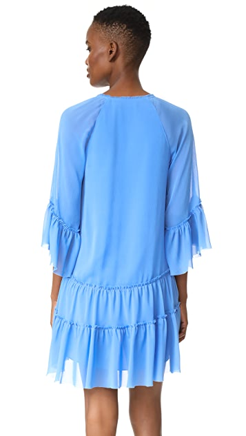 alice + olivia Zoey Tiered Dress