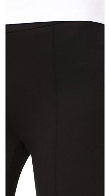 alice + olivia Michiko Front Pintuck Flared Pants