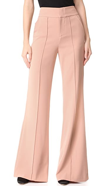 alice + olivia Dawn High Waisted Pants