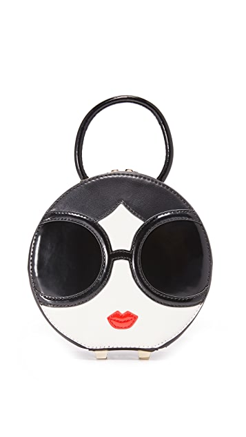 alice + olivia Stace Face Circular Mini Bag