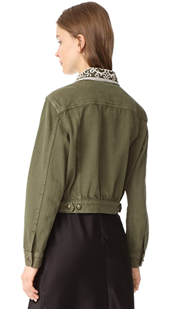 alice + olivia Chloe Jacket with Pins