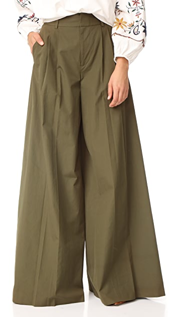 alice + olivia Dustin Super Flare Pants
