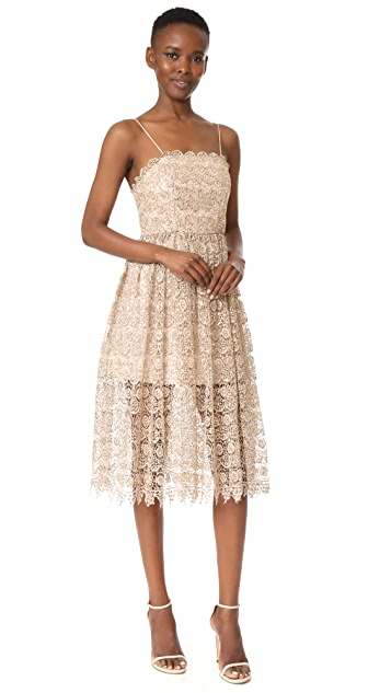alice + olivia Alma Party Dress