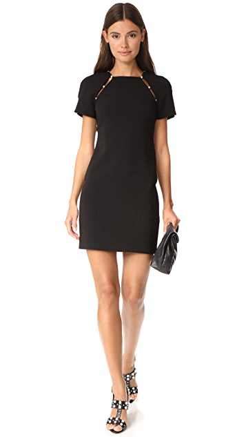 alice + olivia Kristiana Fitted Dress