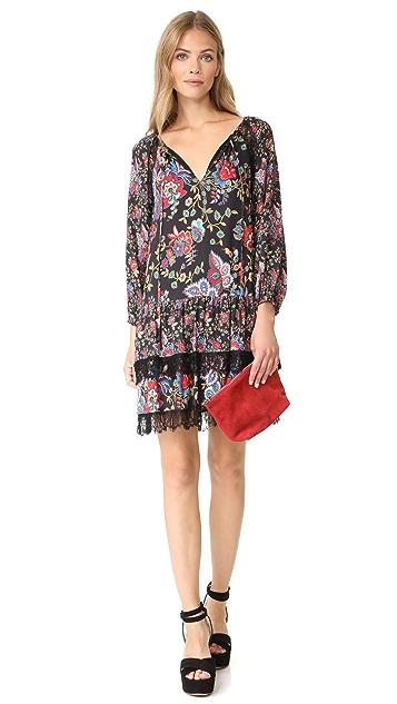 alice + olivia Lakita Tiered Dress