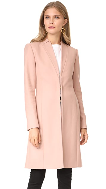 alice + olivia Logan High Neck Coat