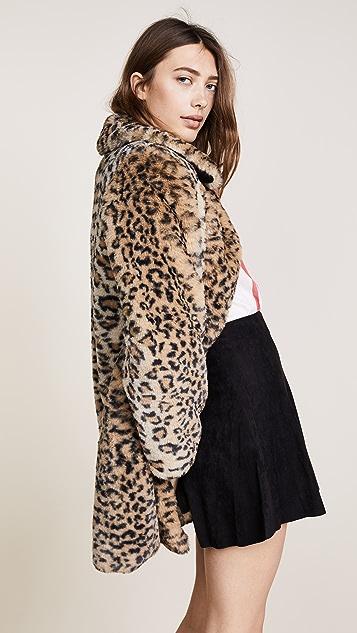 e4c7cc36caee alice + olivia Kinsley Faux Fur Coat | SHOPBOP