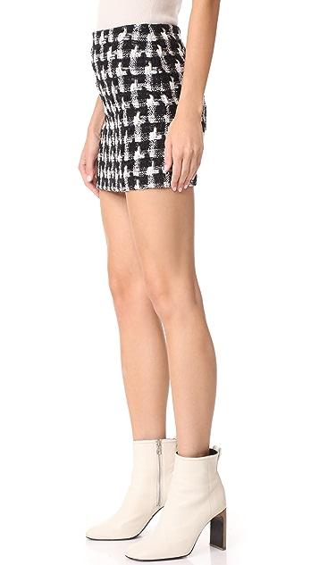 alice + olivia Elana Miniskirt