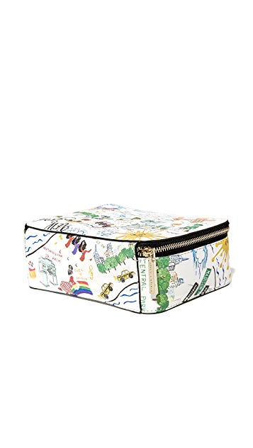 alice + olivia Nally Zip Around Cosmetic Case