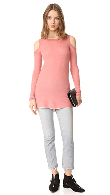 alice + olivia Wade Cold Shoulder Tunic