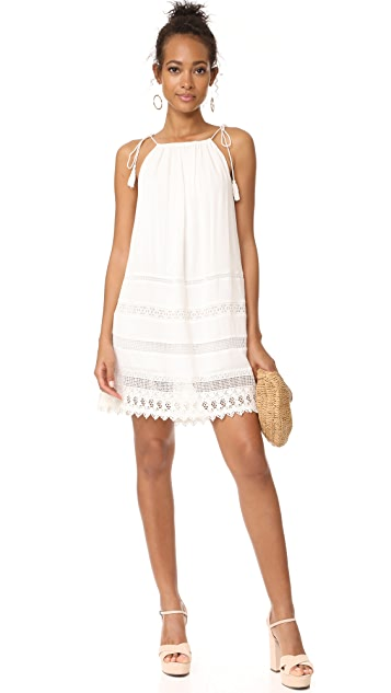 alice + olivia Danna Tie Stripe Dress