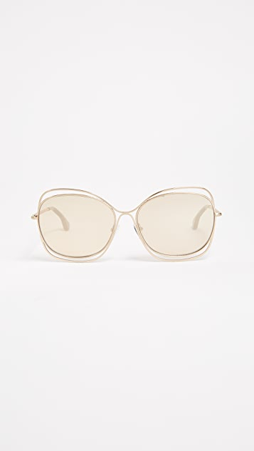 alice + olivia Collins Sunglasses