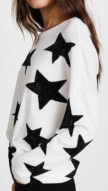 alice + olivia Bao Star Sweater