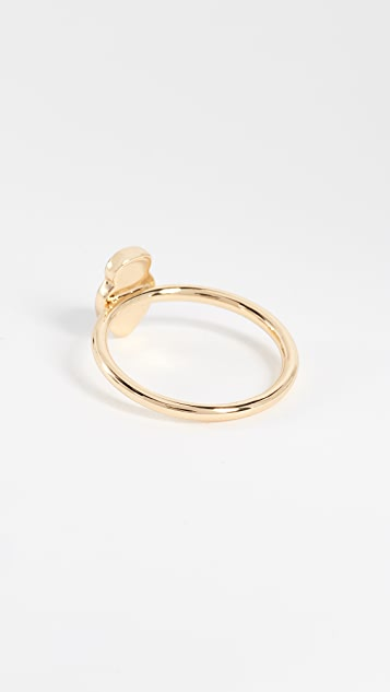 alice + olivia Stace Face Ring