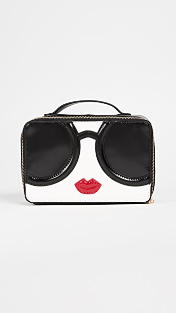 alice + olivia Ally Stace Face Zip Around Cosmetic Case