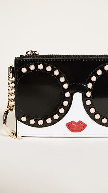 alice + olivia Stace Face Zip Pouch