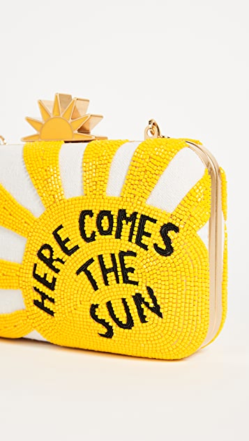 alice + olivia Shirley Here Comes the Sun Large Clutch