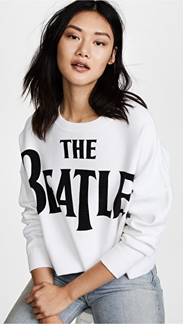 alice + olivia Quintin Cropped Pullover