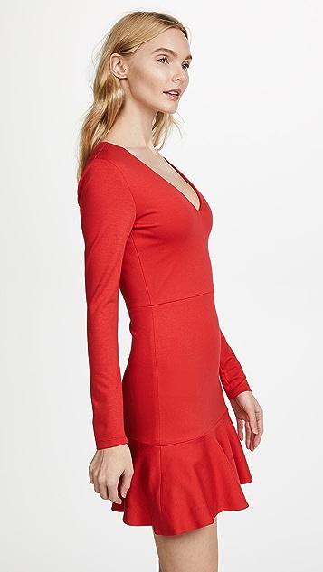 alice + olivia Francine Fit & Flare Dress
