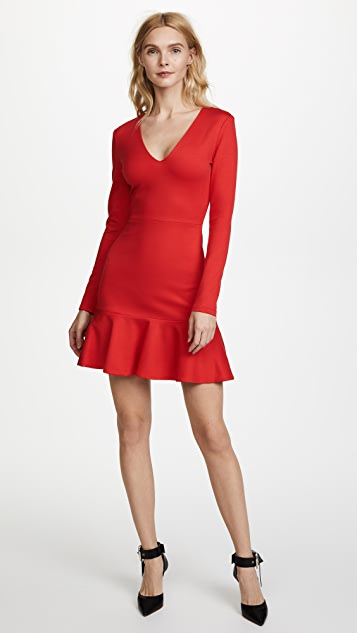 alice + olivia Francine Fit & Flare Dress