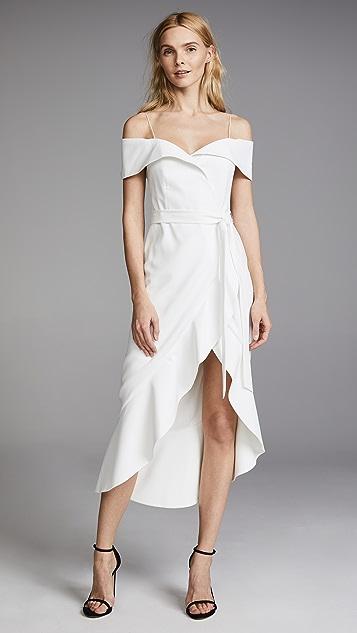 97e0767ad4 alice + olivia Josie Off Shoulder Wrap Dress | SHOPBOP