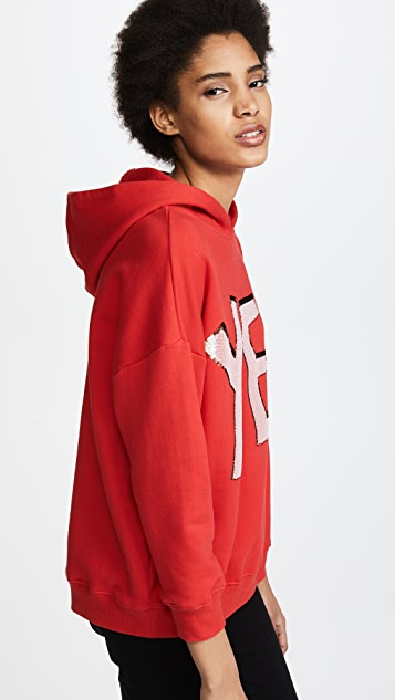 alice + olivia Vernie Exaggerated Pullover Hoodie
