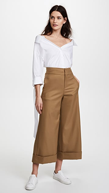alice + olivia Knox High Waisted Ankle Pants