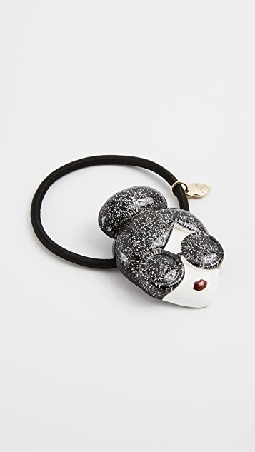 alice + olivia Glitter Stace Face Hair Tie