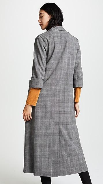 alice + olivia Angela Long Coat