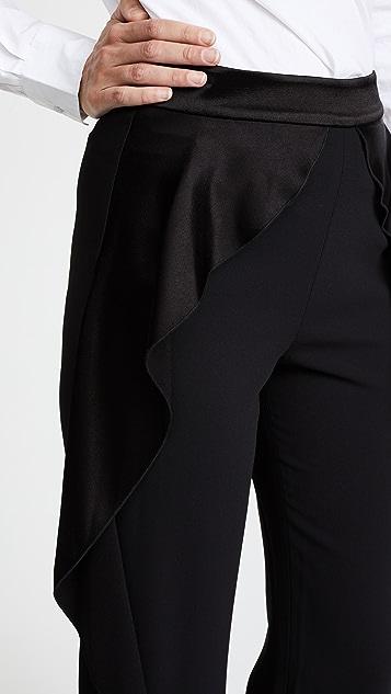 e408cffdf101 alice + olivia Wallace Side Ruffle Pants | SHOPBOP