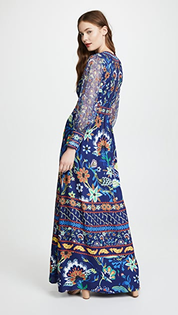 alice + olivia Jada Maxi Dress