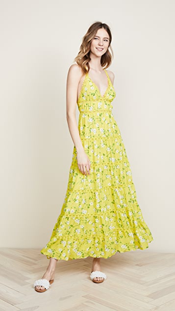 alice + olivia Karolina Maxi Dress