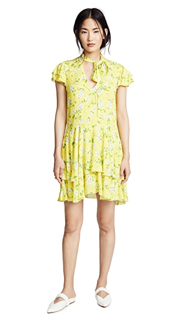 alice + olivia Moore Layered Dress