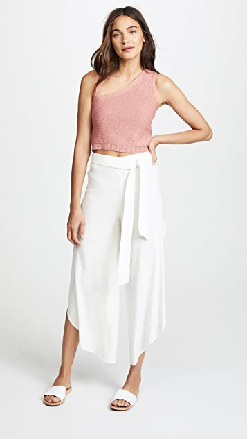 Ezra Petal Pants by Alice + Olivia