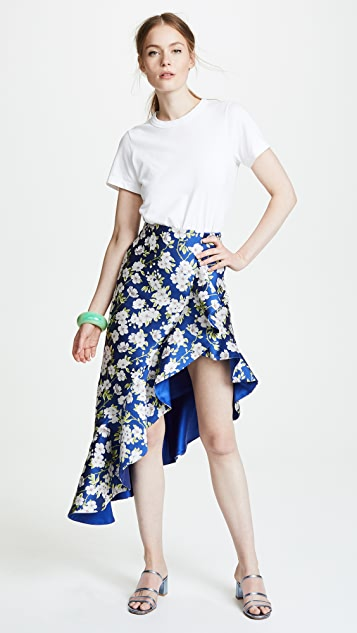 alice + olivia Lovetta Ruffle Skirt