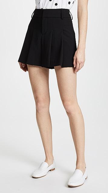 alice + olivia Scarlette Flutter Shorts