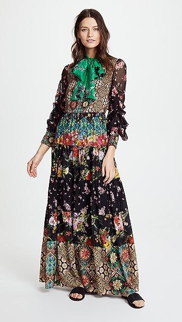 b01523ad402a alice + olivia Clementine Maxi Dress | SHOPBOP