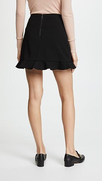alice + olivia Lani Ruffle Skirt